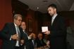 Santiago collects the award from his father Munt Santiago Rubio, Head of the Department of Planning and Viario Traffic and Transport Services of the City of Madrid. Medal posthumously