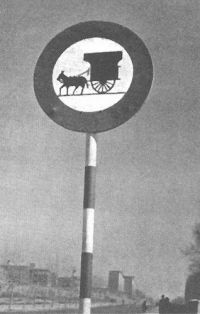 In the early years 60 still circulating on Spanish roads over a million horse carts.