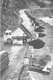 A modernização Plano de estrada dedicado parte do seu orçamento para a construção de variantes e modificação da trama em curvas perigosas.