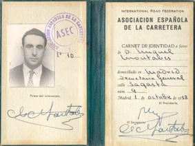 Identity card of Miguel Montabes