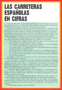 Premières routes espagnoles en nombre