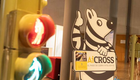 New addition to the AEC: AiCross and its innovative smart zebra crossing