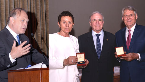 National Hospital of Paraplegics, Informativos Telecinco and Jean Claude Roffé receive the Medal of the Road