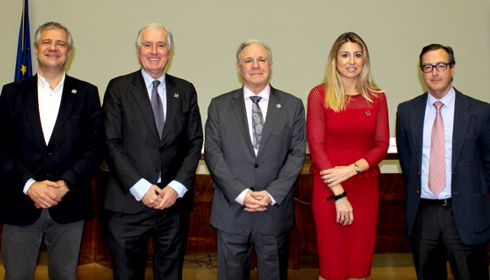 Juan Francisco Lazcano, appointed President of the Spanish Road Association for the third consecutive term