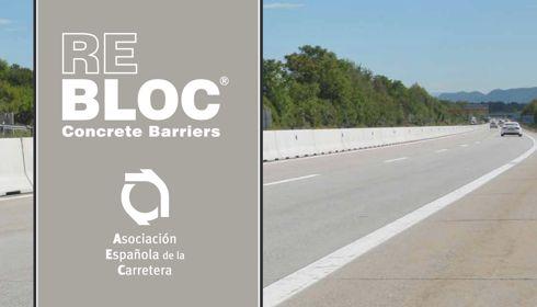 REBLOC, spécialiste des barrières en béton, nouveau membre de l'Association espagnole de la route