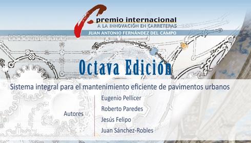 O XNUMXº Prêmio Internacional de Inovação Rodoviária Juan Antonio Fernández del Campo fracassou