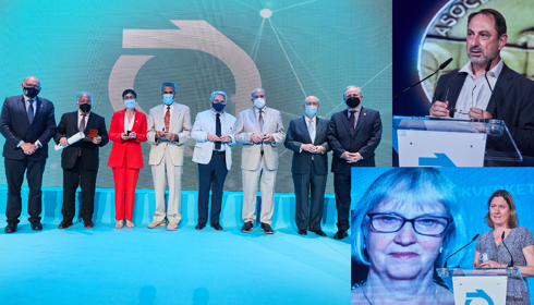 DGT, Banco Caminos e a Swedish Highway Administration, medalhas de ouro, prata e internacionais AEC