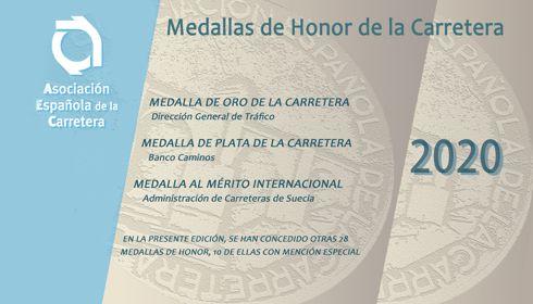 A Direção Geral de Trânsito, Medalha de Ouro da Rodovia 2020