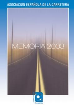 2003 память испанской Ассоциации дорожного движения