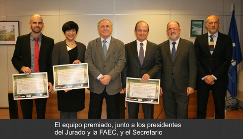 A study to increase safety in overtaking sections of the conventional routes, Award for Innovation in Highway Juan Antonio Fernández del Campo